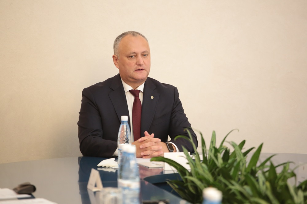 """Dodon anunță despre un eveniment dedicat """"încheierii Anului Familiei și aniversării a 660-a de la întemeierea Statului Moldovenesc"""""""