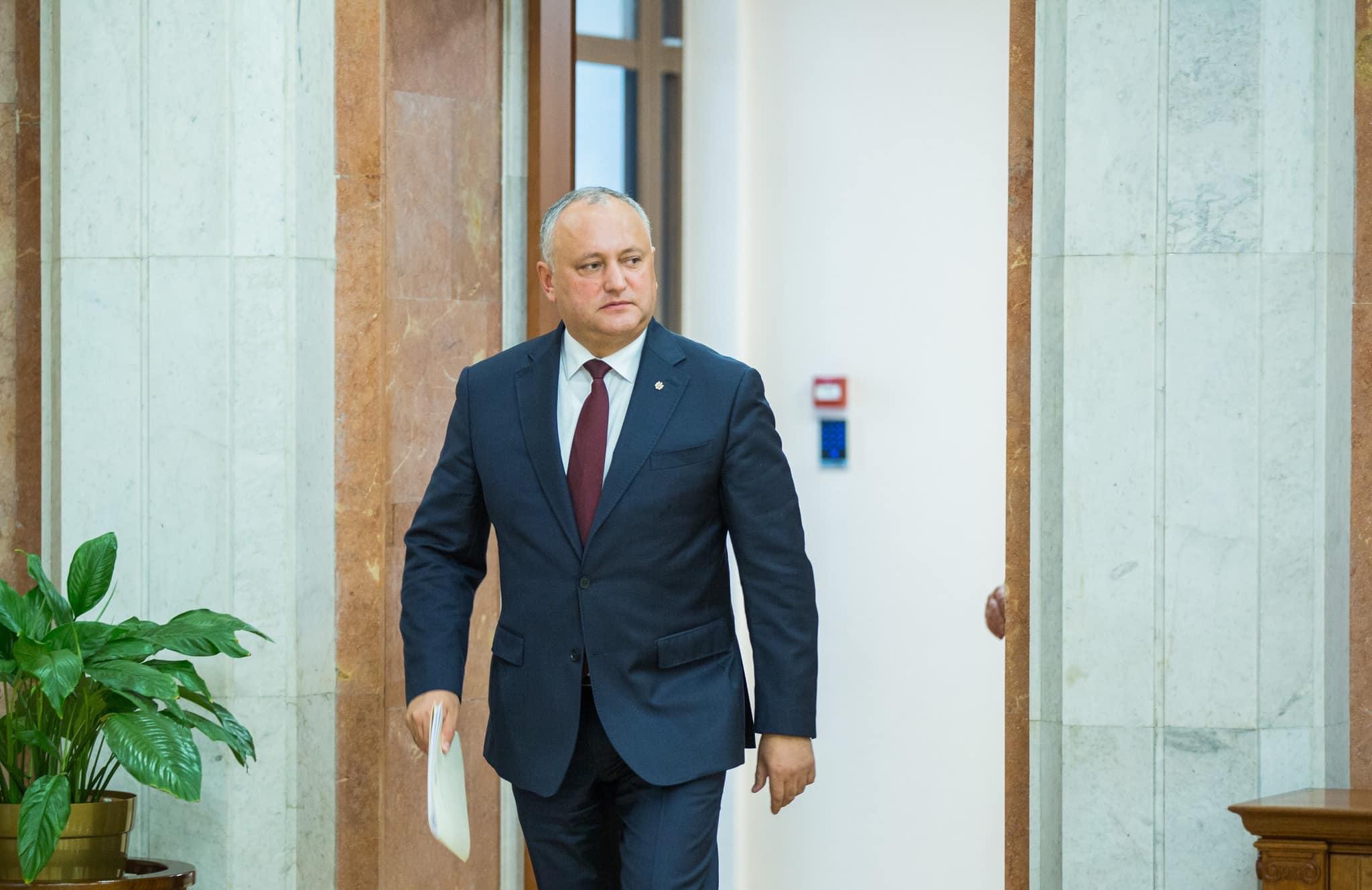 Președintele a înaintat în Parlament, cu titlu de inițiativă legislativă, două proiecte de lege