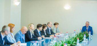 Șeful statului a avut o întrevedere cu conducătorii băncilor comerciale din țară