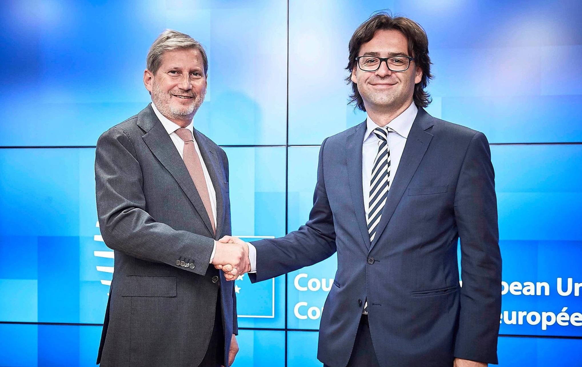 UE reia sprijinul bugetar pentru RM! Hahn: Deblocarea asistenței financiare este un semn clar al sprijinului nostru