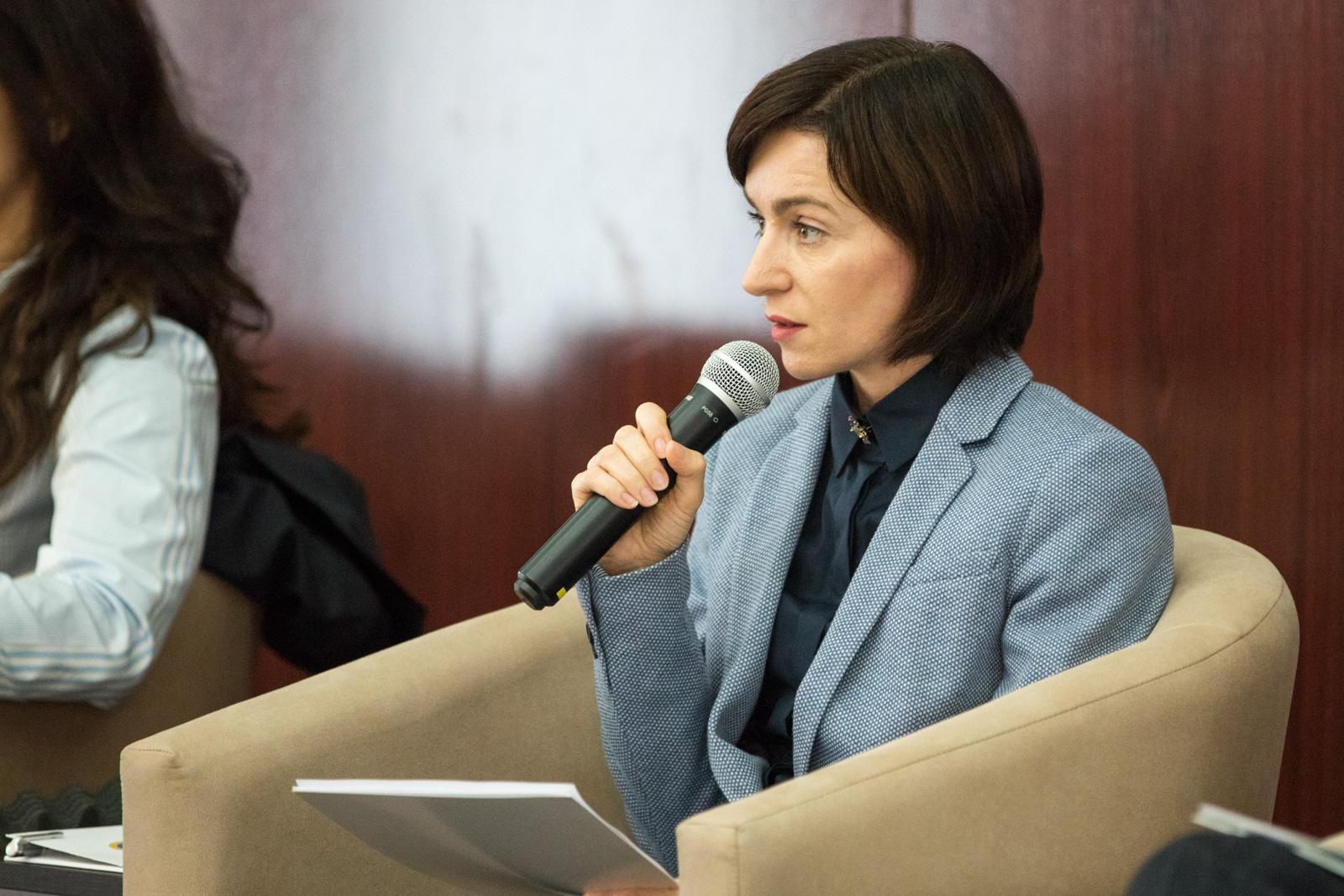 """Maia Sandu, despre decizia Curții de Apel cu privire la Năstase: """"Acum, această decizie nu-l ajută"""""""