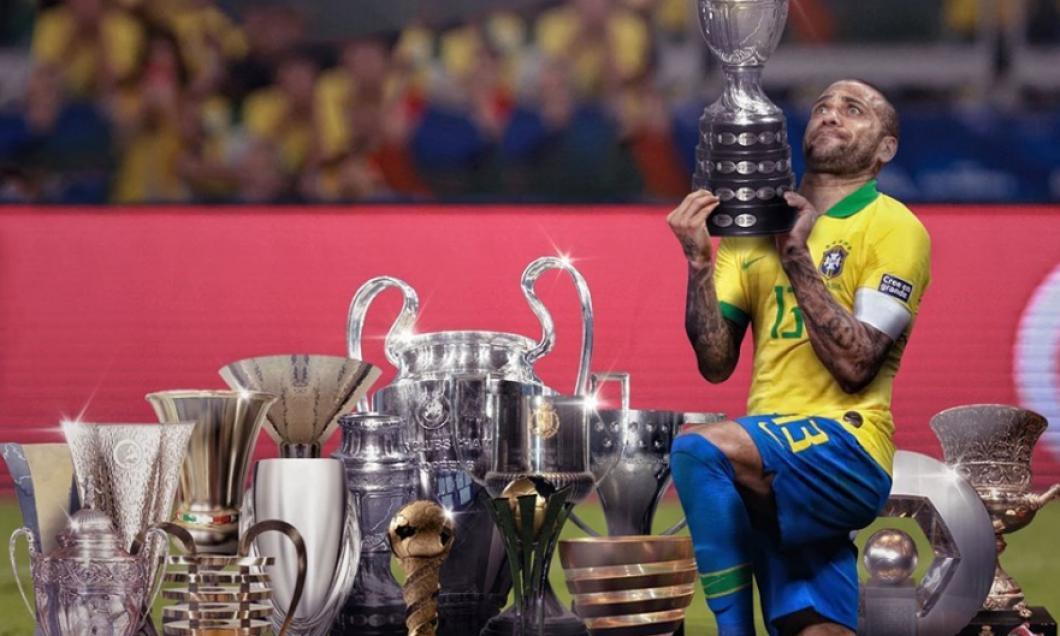 Dani Alves e primul jucător din istorie cu 40 de trofee