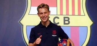 """""""Era Frenkie de Jong a început"""". Primele declarații ale olandezului după ce s-a pozat în tricoul Barcelonei"""