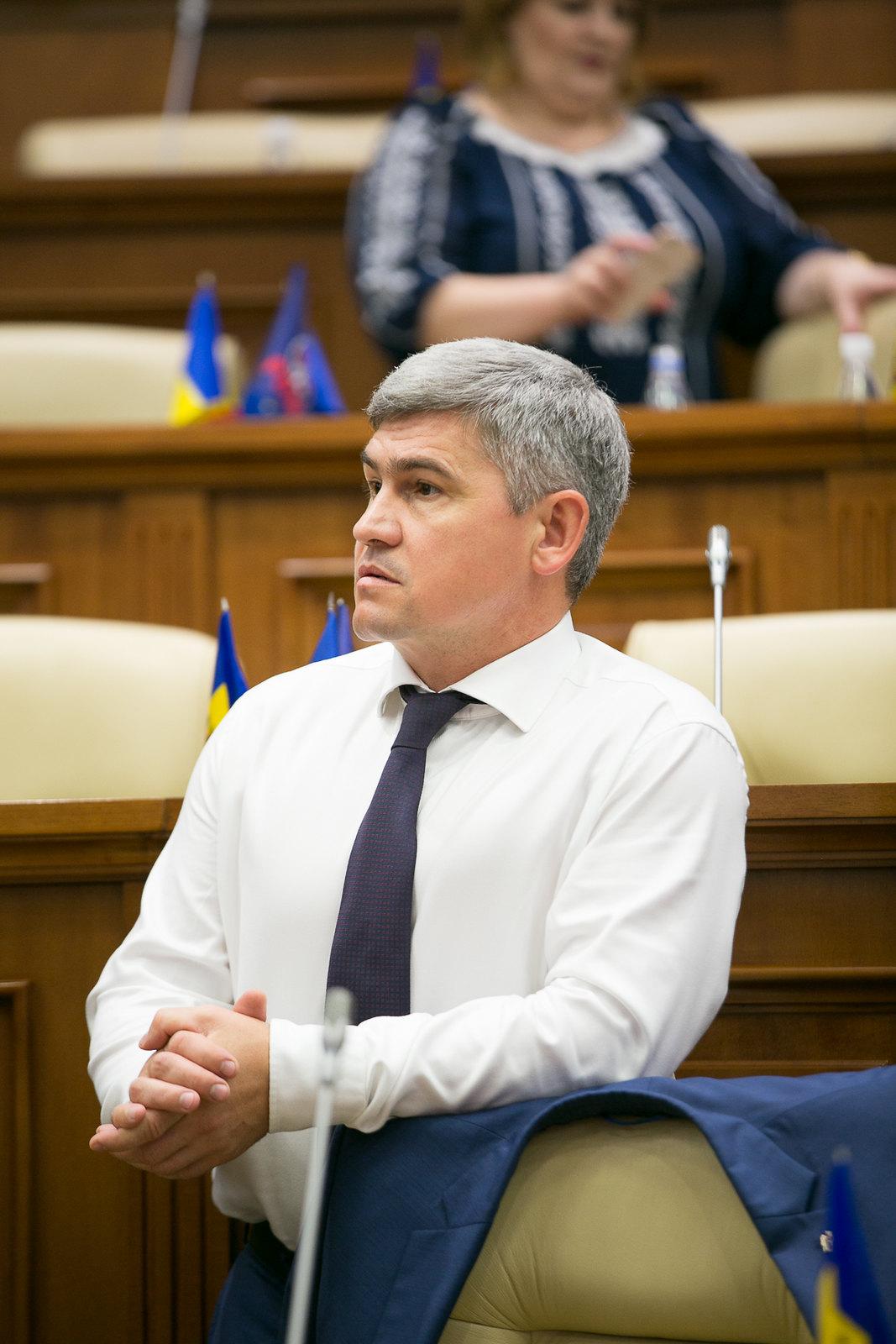 Alexandru Jizdan, noul secretar general al PDM