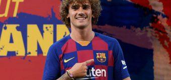 Antoine Griezmann a primit numărul la Barcelona