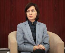 Maia Sandu: Dodon știe că va pierde alegerile prezidențiale… de aceea a început să vină cu acțiuni