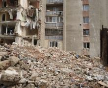 Care este situația la blocul avariat din Otaci
