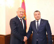 Igor Dodon s-a văzut cu președintele FMF. Ce au discutat!