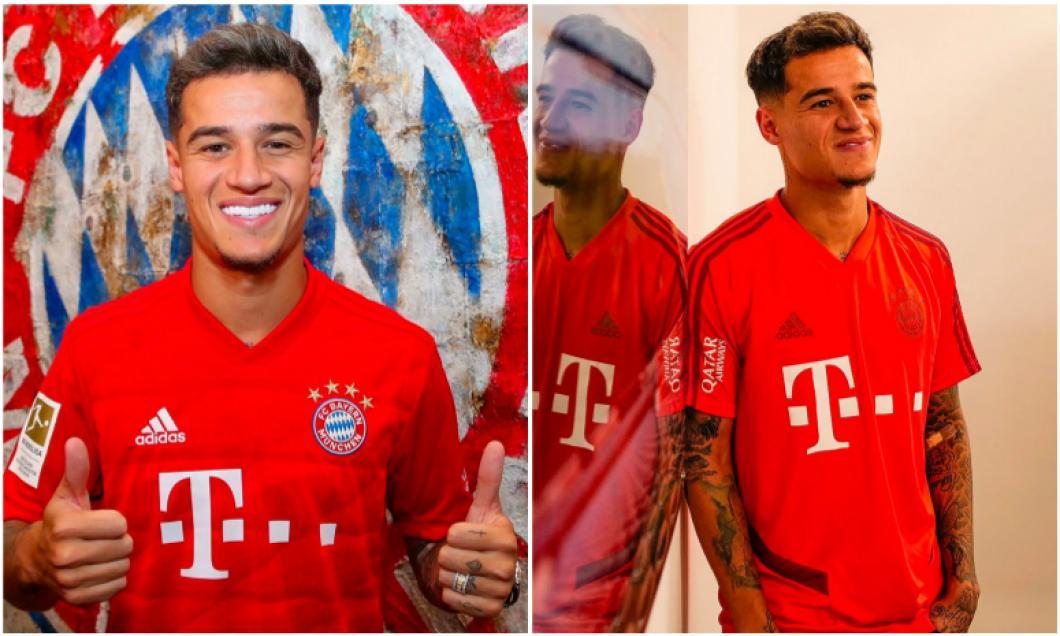 Un nou capitol în cariera lui Philippe Coutinho! Primele imagini în echipamentul lui Bayern Munchen