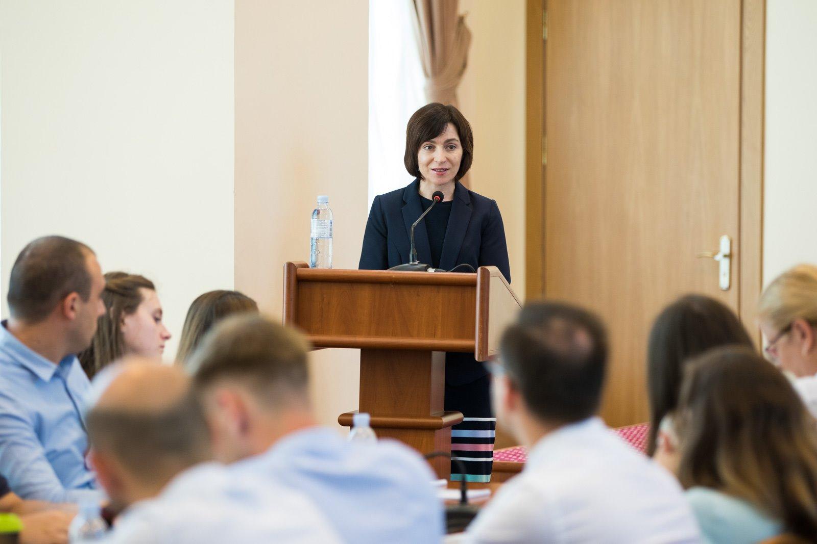 Maia Sandu – politicianul care se bucură de cea mai mare încredere