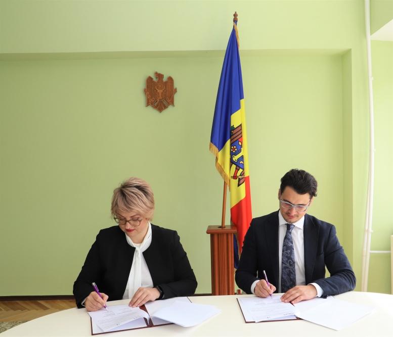 Acord de colaborare în domeniul proprietăţii intelectuale. AGEPI și AMDM au semnat!