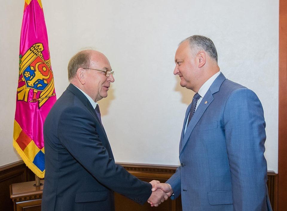 Președintele RM și Ambasadorul Federației Ruse, la o nouă discuție