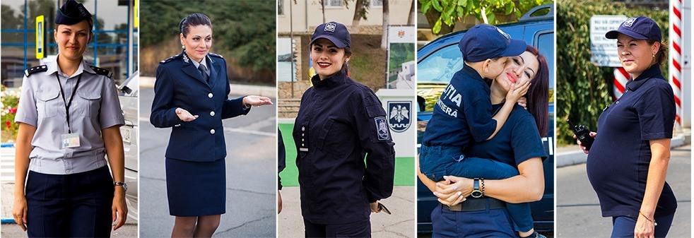 (VIDEO) Proiect grandios al Poliției de Frontieră: Ne dorim să cunoașteți femeile care scriu istoria instituției