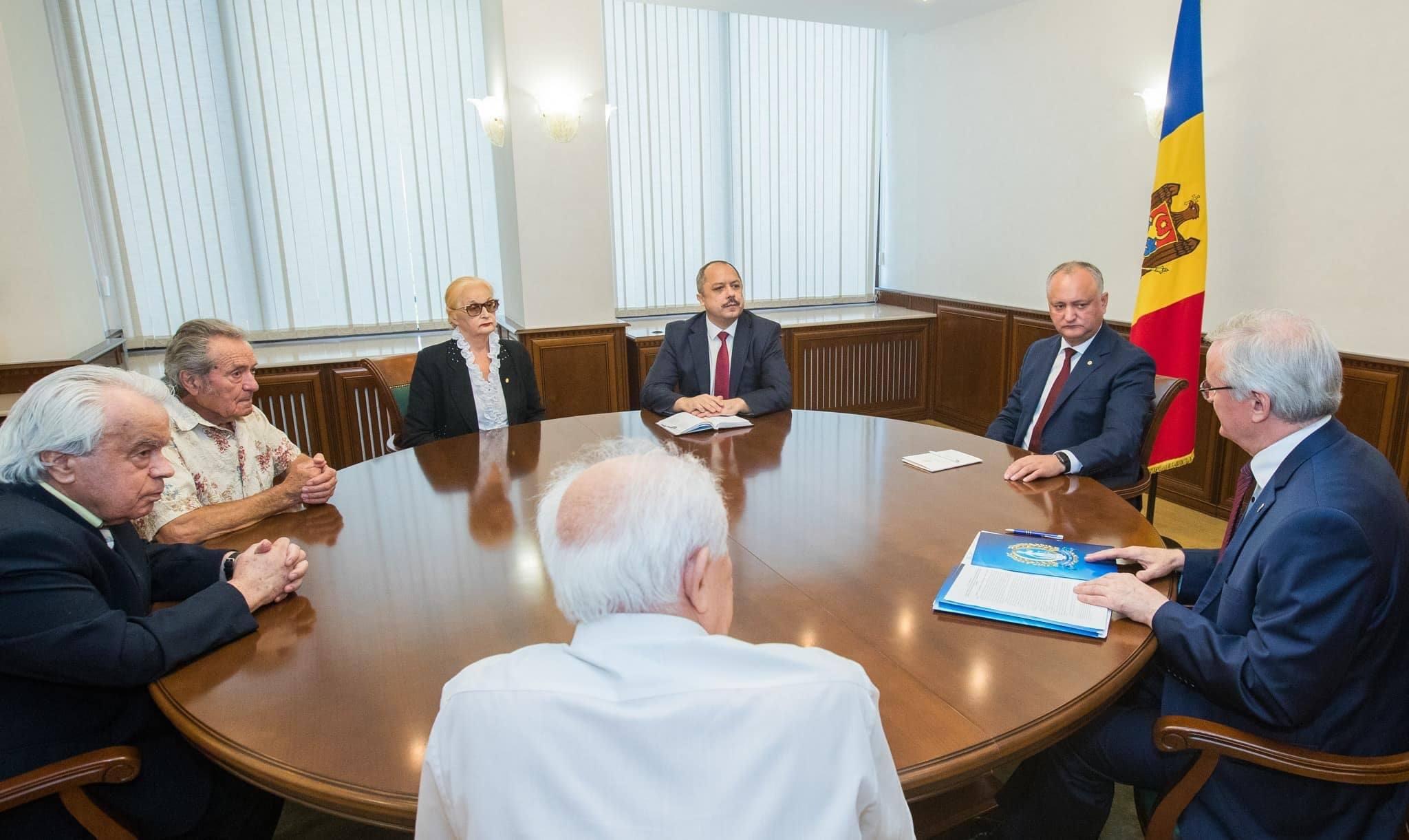 O inițiativă legislativă ce are drept scop redresarea situației din domeniul științei va fi lansată de șeful statului