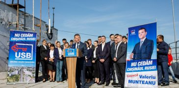 USB s-a lansat în campania pentru Chișinău! Munteanu: Aceste alegeri sunt ultima șansă a Basarabiei