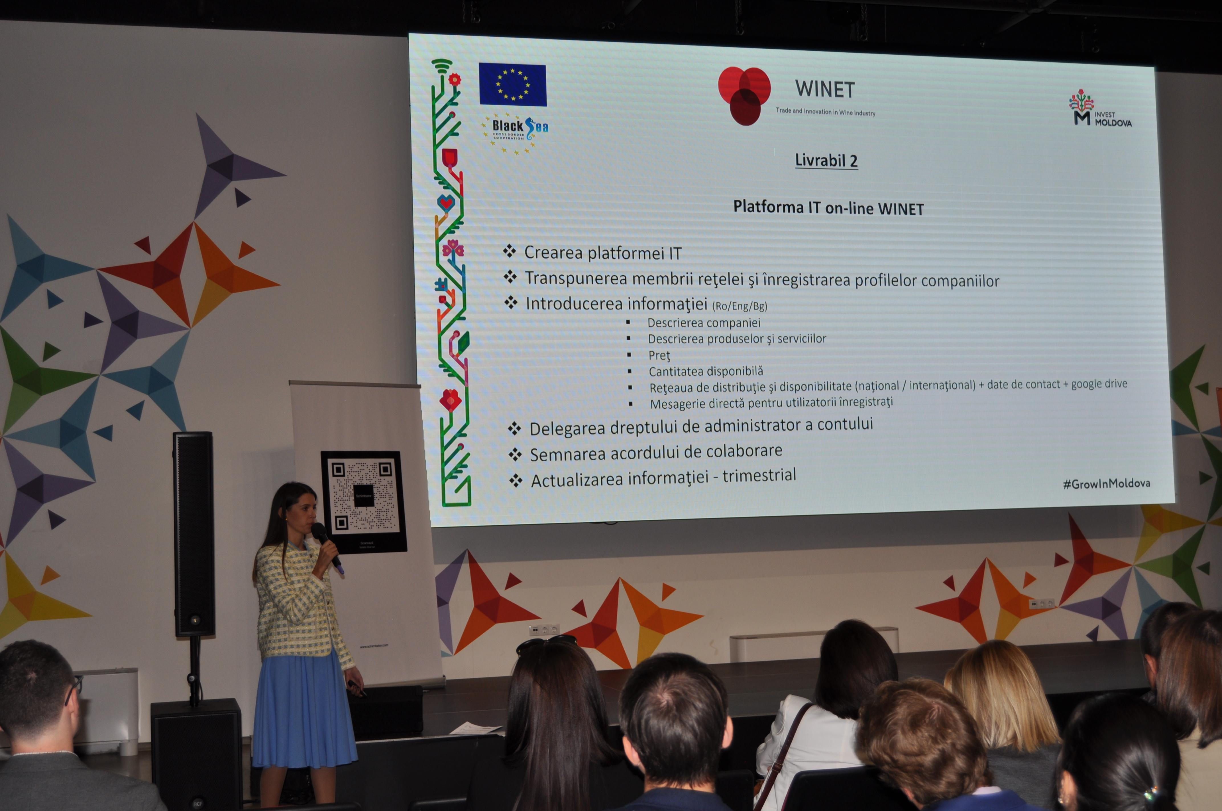 WINET – un nou proiect în domeniul comerțului și cooperării din sectorul vinicol din regiunea Bazinului Mării Negre, lansat