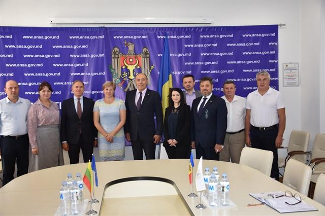 Ambasadorul R. Lituania în Republica Moldova – în vizită la ANSA