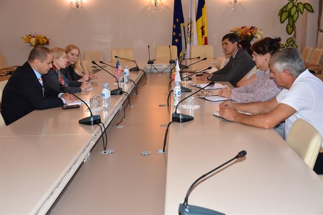 Reprezentanții Ambasadei SUA în R. Moldova s-au văzut cu conducerea ANSA