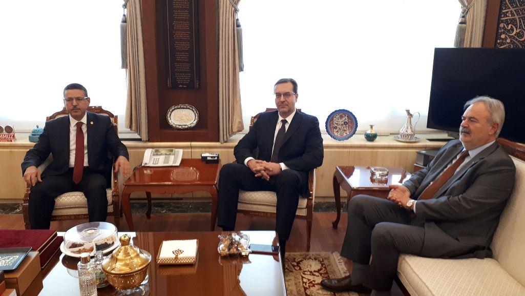 Președintele Curții de Conturi a efectuat o vizită de lucru în Turcia