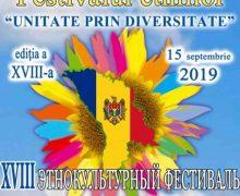La Chișinău va fi organizat Festivalul Republican al Etniilor