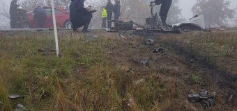 Trei persoane au decedat în urma unui accident la intrare în Căușeni