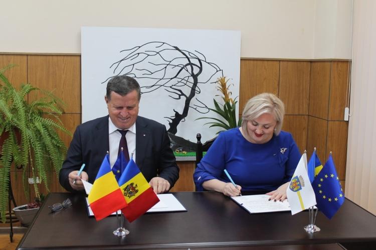 Acord de înfrățire între sectorul Ciocana și un municipiu din România!