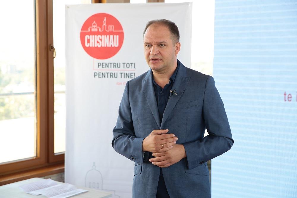 Ion Ceban: Vrem să creăm 5 întreprinderi mari de gestionare a fondului locativ din capitală
