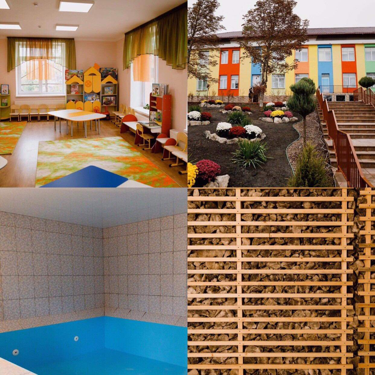 (FOTO) Premieră pentru Moldova! La Orhei a fost deschisă o grădiniță cu bazin și cameră salină