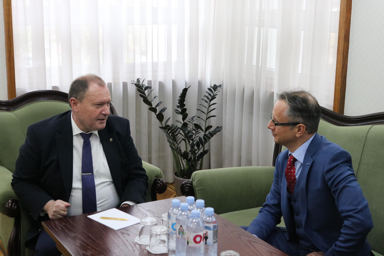 Ministrul afacerilor externe l-a primit pe şeful Misiunii OSCE în Moldova. Ce au discutat