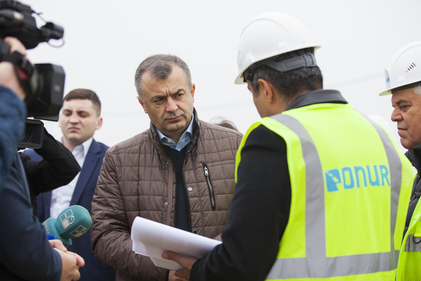 Ion Chicu a solicitat efectuarea de evaluări pe toate șantierele de reabilitare a drumurilor din țară