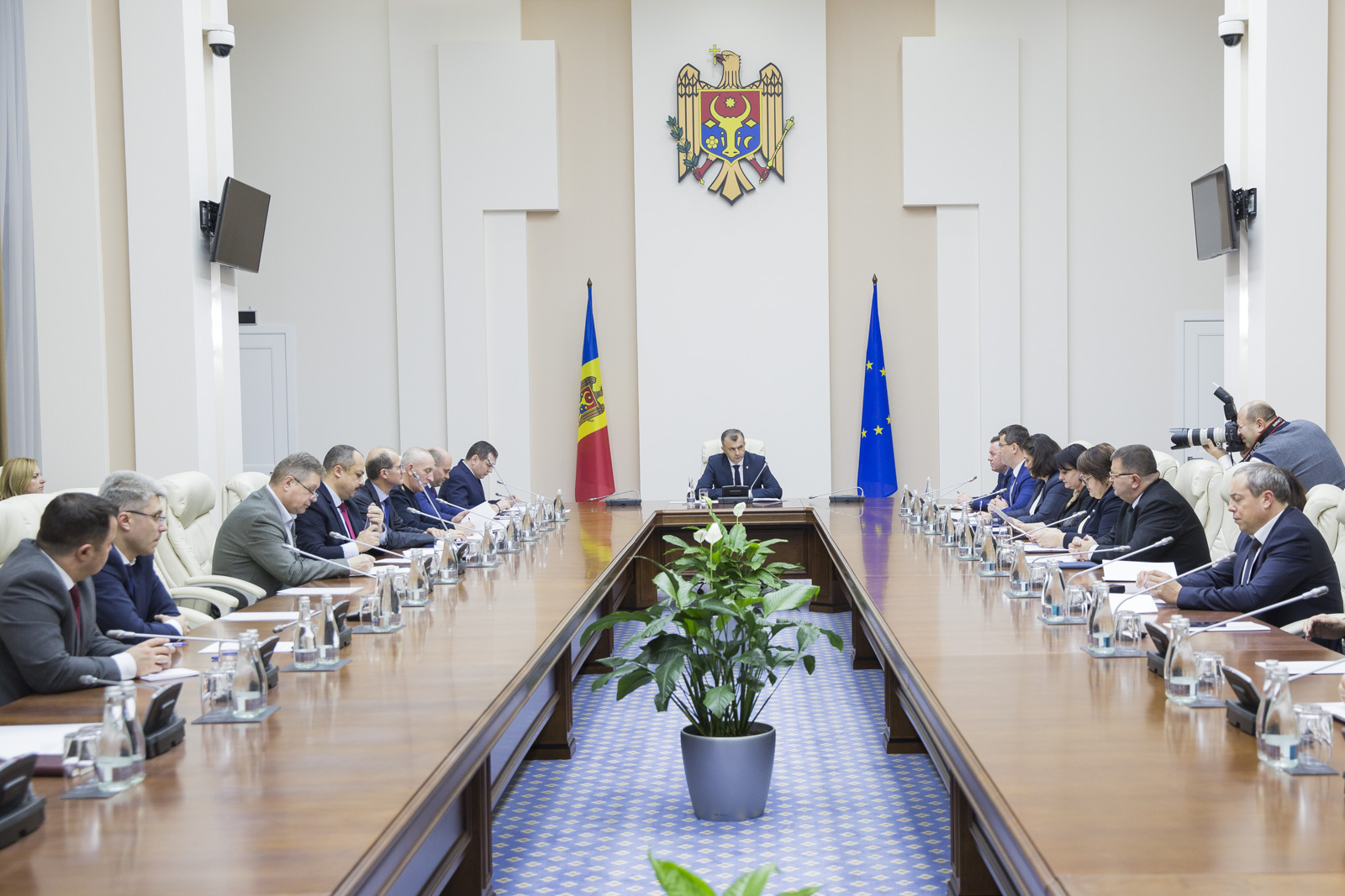 Comisia pentru Situații Excepționale, în ședință!  Ce a solicitat Ion Chicu
