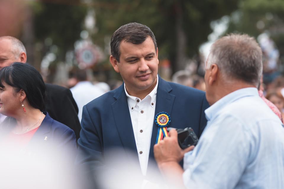 Eugen Tomac va vota la Chișinău în cadrul alegerilor prezidențiale din România