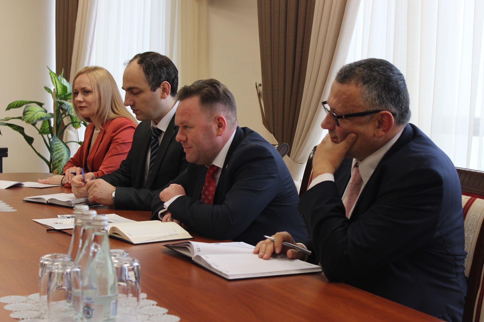Prima întrevedere de lucru a Vicepremierului pentru Reintegrare cu Șeful Delegației UE