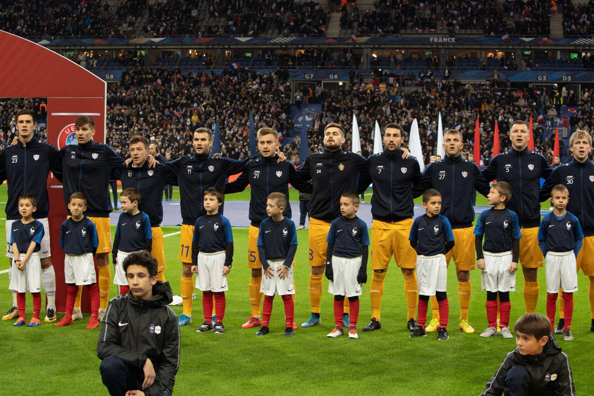 Istorie pe terenul de fotbal al Franței, naționala Moldovei a marcat un gol! Următorul meci – cu Islanda
