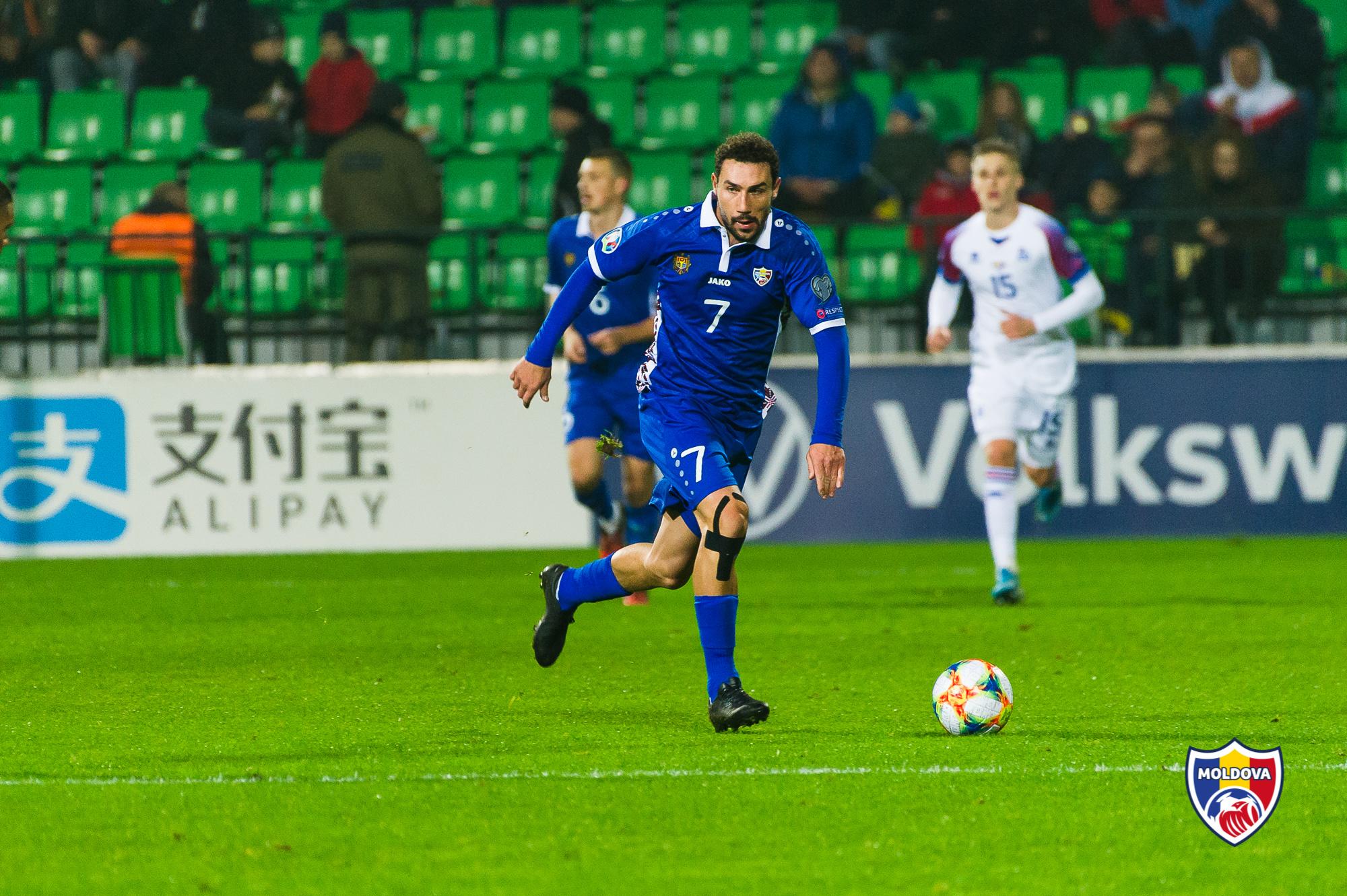 Artur Ioniță – cel mai bun fotbalist moldovean al anului 2019