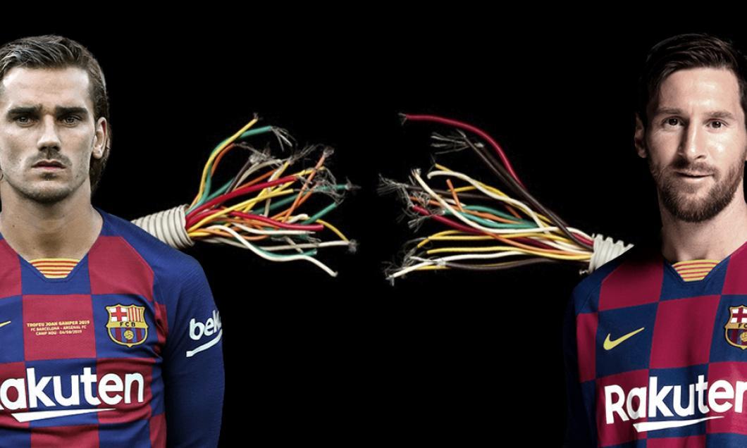 Marca: Conexiunea dintre Messi şi Griezmann nu funcţionează deloc