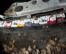 Tutun pentru narghilea, transportat ilegal de un tânăr din R. Moldova