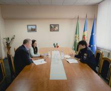 Securitatea cetățenilor – discutată de șeful IGPF și ofițerul de legătură pe probleme de criminalitate fiscală din cadrul Ambasadei Marii Britanii