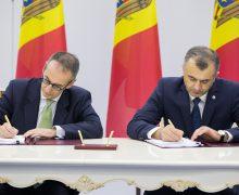 Guvernul a semnat un aranjament financiar cu BERD. Premierul: Contăm pe faptul că Rusia și Ucraina vor ajunge la un numitor comun și RM va primi gaze naturale la un preț mult mai avantajos
