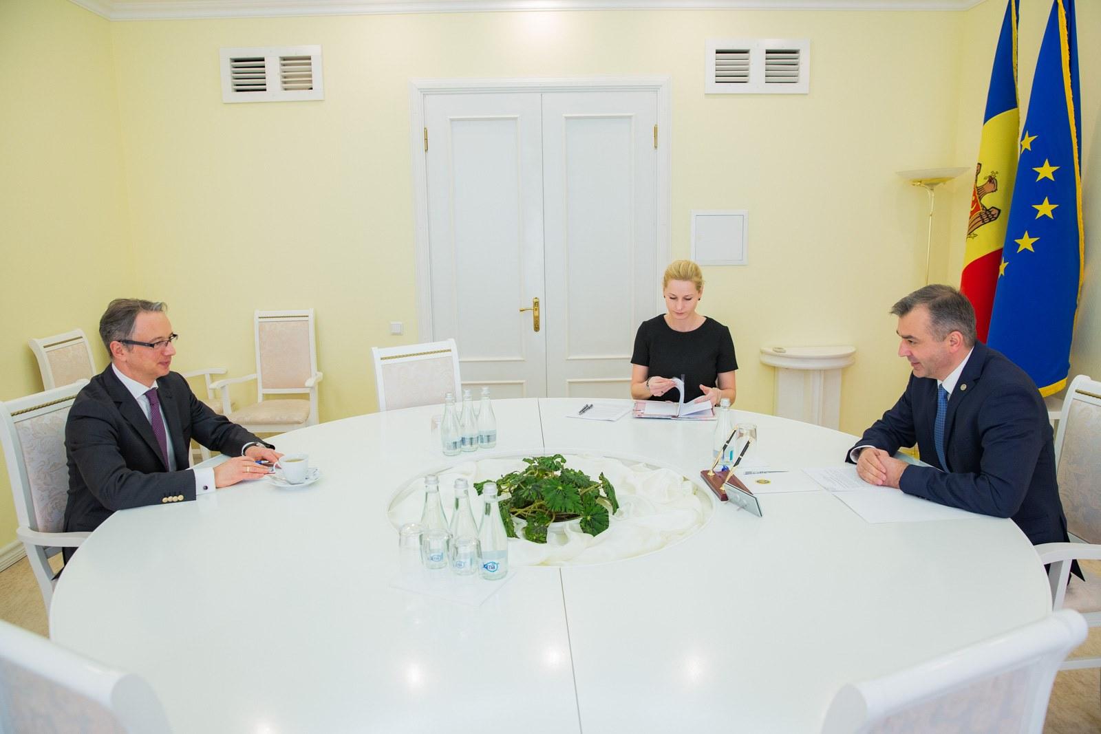 Prim-ministrul, la discuții cu șeful Misiunii OSCE. Detalii!