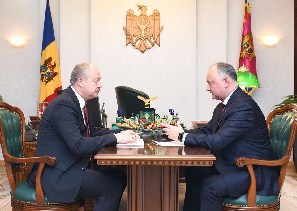Respectarea legislației în domeniul concurenței – discutate de Președintele țării cu Președintele Consiliului Concurenței