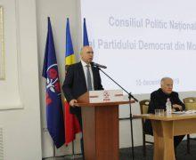 Filip, la Consiliul Național Politic: PDM nu doar a supravieţuit, dar a reuşit să obţină cel mai bun scor în alegerile locale