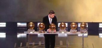 Lionel Messi a intrat în istorie! A câștigat al șaselea Balon de Aur