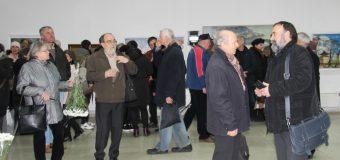 """O expoziție """"În memoriam"""" artistului plastic Gheorghe Munteanu – inaugurată la Chișinău"""
