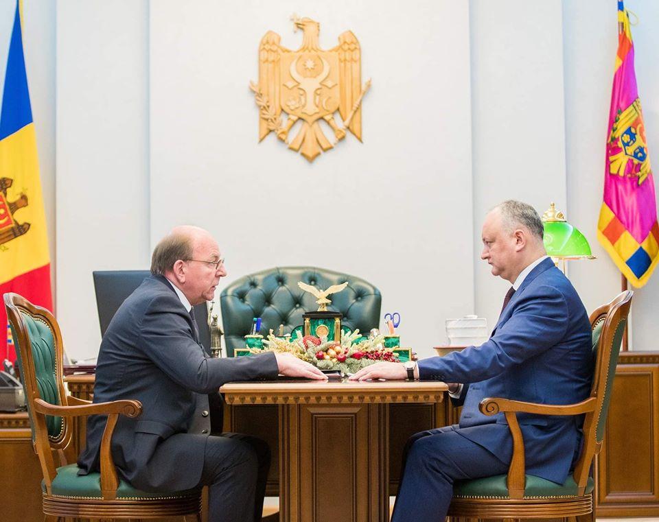 Igor Dodon s-a văzut cu Ambasadorul Rusiei. Ce au discutat
