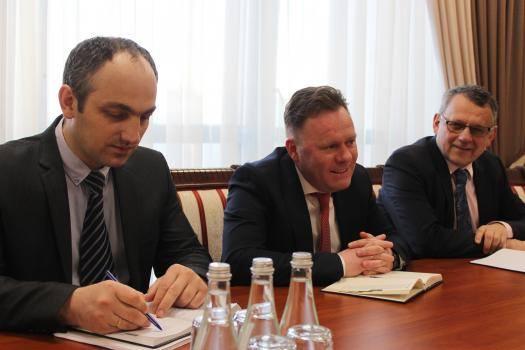 Viceprim-ministrul pentru reintegrare – la discuții cu Șeful Misiunii OSCE în RM