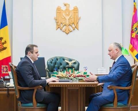 """Dodon și Ceban, la discuții. Iată ce se va schimba în cadrul SA """"Moldovagaz""""!"""
