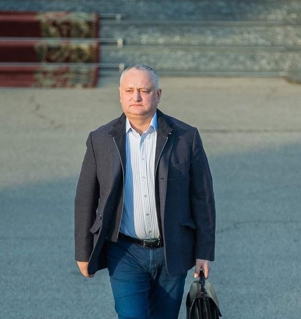 Igor Dodon pleacă la Strasbourg