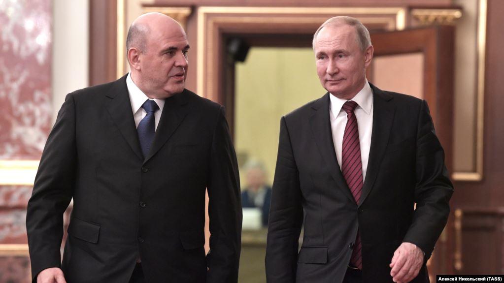 Noul guvern de la Moscova a fost aprobat președintele Vladimir Putin