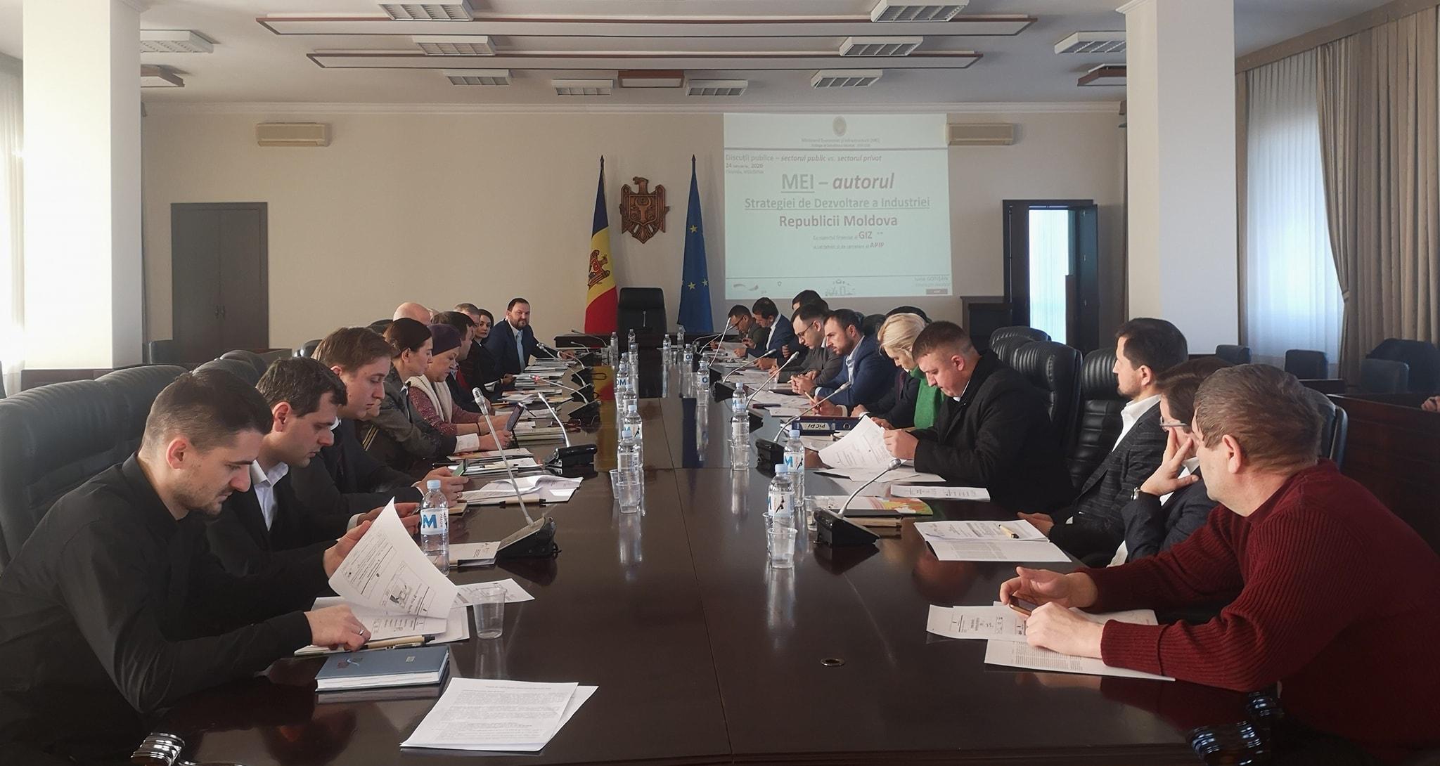 Proiectul Strategiei de Dezvoltare a Industriei Republicii Moldova pentru 2020-2030, elaborat de APIP – prezentat